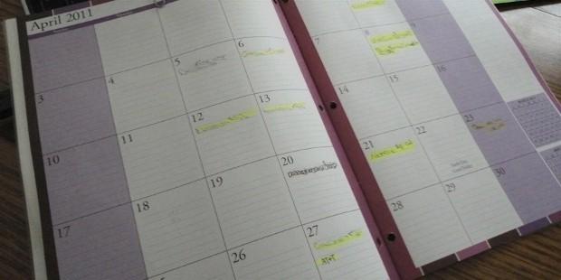create a bill calendar