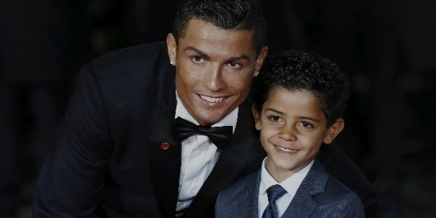 cristiano ronaldo has an incredible bond with his son