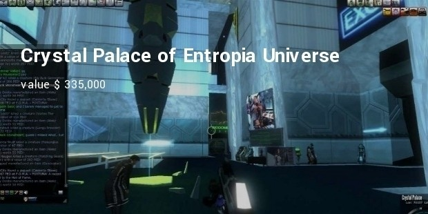 crystal palace of entropia universe