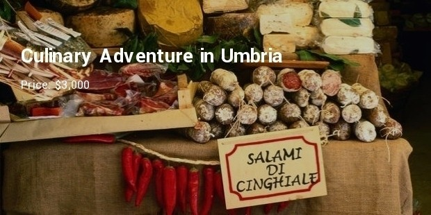 culinary adventurein umbria by the international kitchen