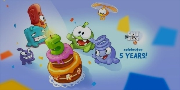 cut the rope 5 years success