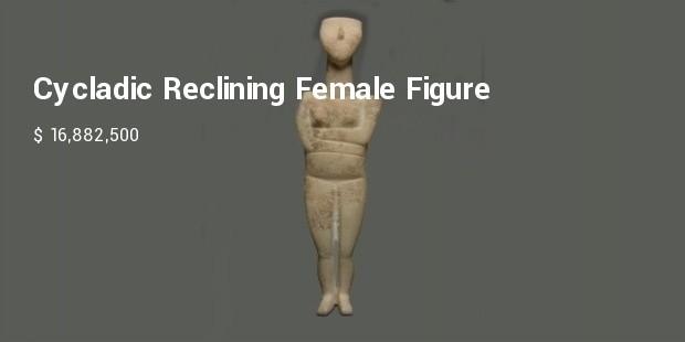 cycladic reclining female figure