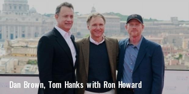 dan brown, tom hanks, ron howard