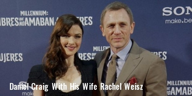 daniel craig and his wife rachel weisz