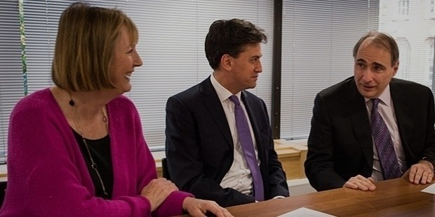 david axelrod meets ed miliband and harriet harman