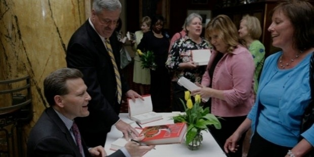 david baldacci guest at inaugural book   author luncheon
