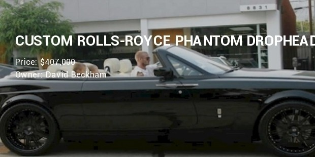 david beckham rolls royce phantom drophead coupe 6