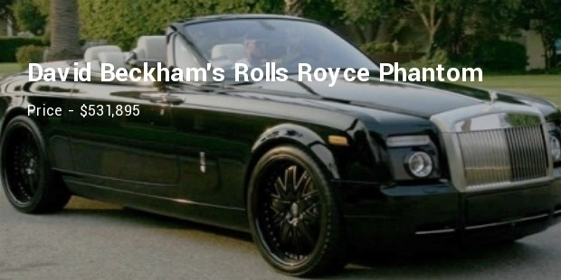 david beckhams rolls royce phantom