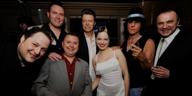 david bowie, jeff beck, imelda may, steve rushton, al gare, leo green, darrel higham