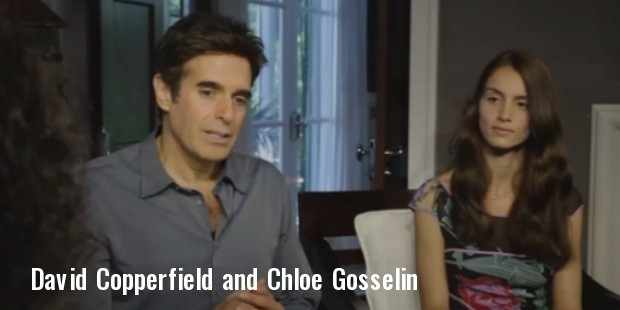 david copperfield and his fiancee chloe gosselin