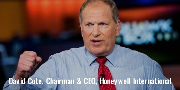 david cote, chairman   ceo, honeywell international