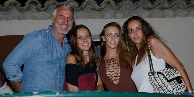david ginola family