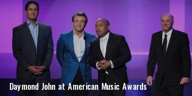 daymond john at american music awards