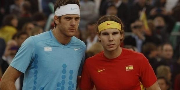 Del Potro and Nadal