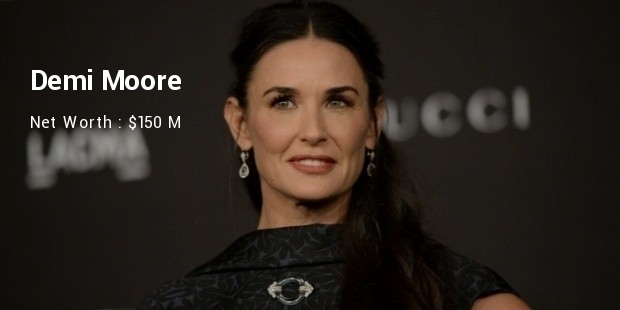 Demi Moore Net Worth