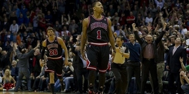 derrick rose celebratiosn