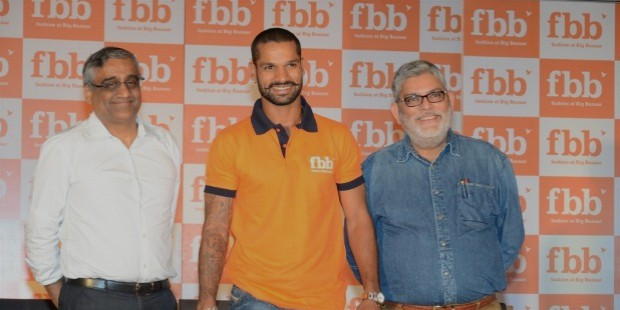 dhawan also endorses few national brands like big bazar