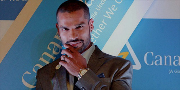 dhawan also endorses few national brands like canara bank