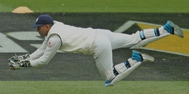 dhoni wicket keeping