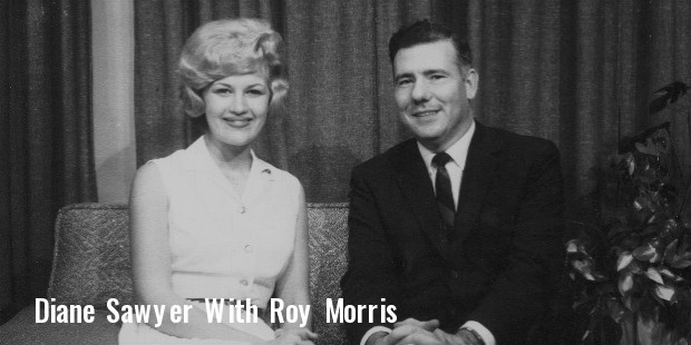 diane sawyer   roy morris,