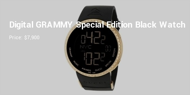 digital grammy special edition black watch
