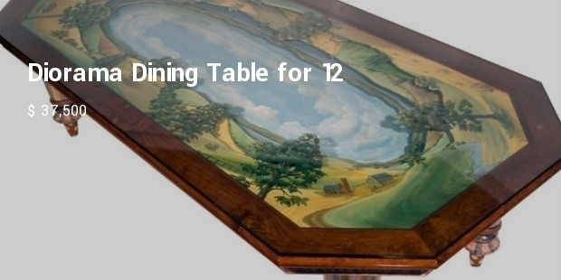 diorama dining table