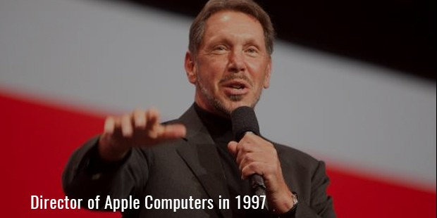 director of Apple Computers in 1997