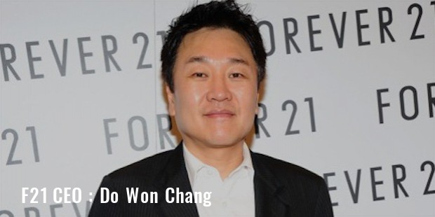 do won chang  f21 ceo