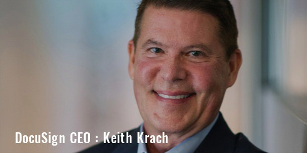 docusign ceo keith krach