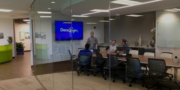 docusign inc history