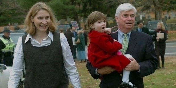 dodd and his wife, jackie clegg dodd, arrive with their daughter,