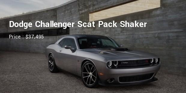 Dodge Challenger Scat Pack Shaker