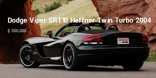 dodge viper srt10 heffner twin turbo 2004