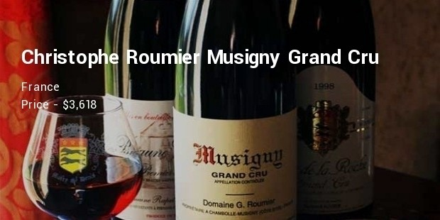 domaine georges   christophe roumier musigny grand cru,cote de nuits, france