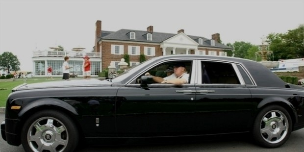 donald trump car rollys royce