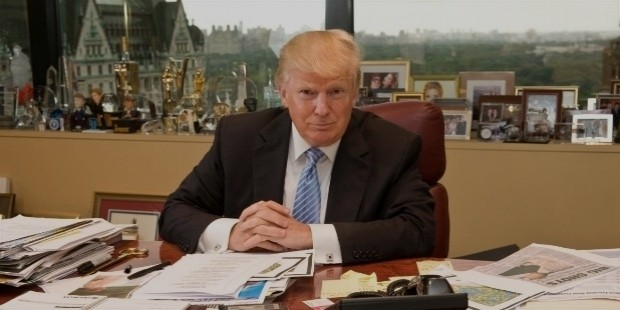 donald trump work