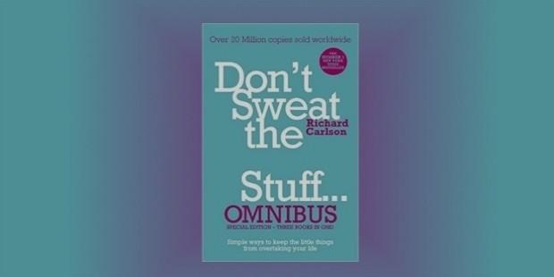 dont sweat the stuff book