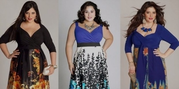 dresses for women with large breasts by igigi