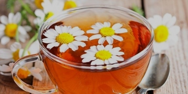drink chamomile tea