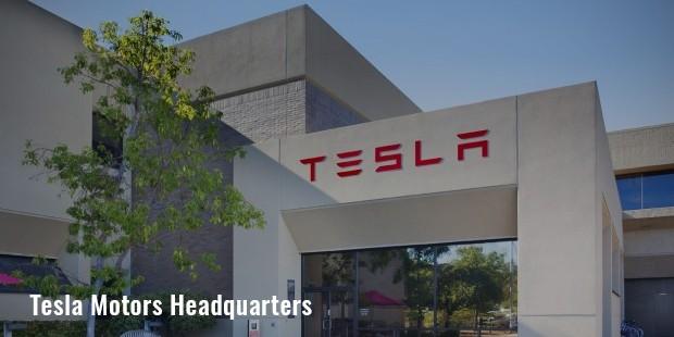 Tesla motors head office for Tesla motors palo alto