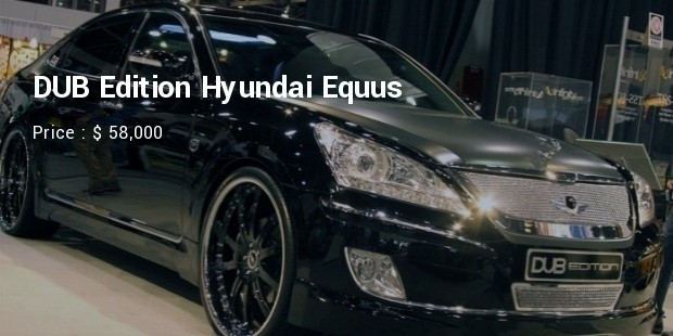 dub edition hyundai equus