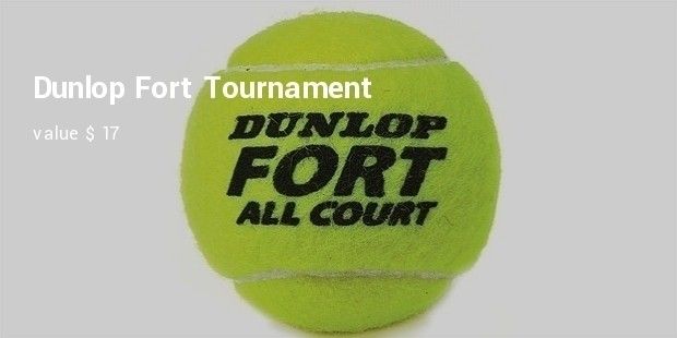 dunlop fort tournament