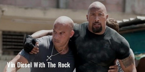 dwayne the rock johnson and vin diesel