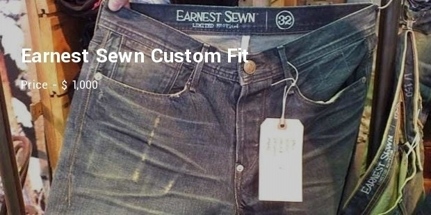 earnest sewn custom fit