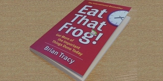 eat the frog by brain tacy