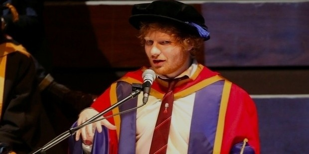 ed sheeran degree