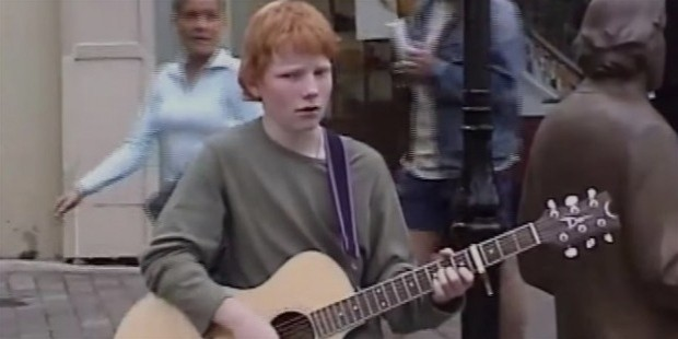 ed sheeran young boy