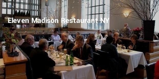 eleven madison restaurant