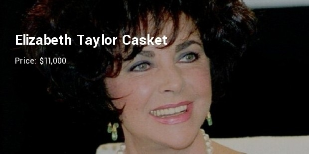 elizabeth taylor casket