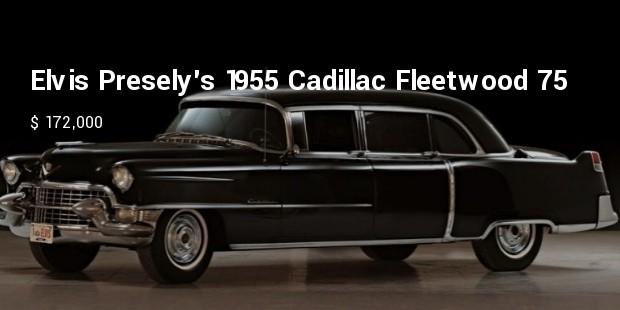 elvis preselys 1955 cadillac fleetwood 75 limousine